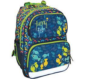 Školní batoh P + P Karton anatomický ERGO KIDS Funny Fish - P + P Karton