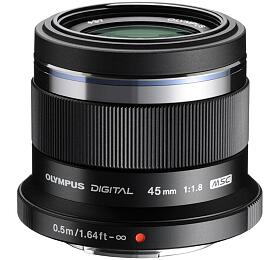 Objektiv Olympus ET-M4518, černý - Olympus