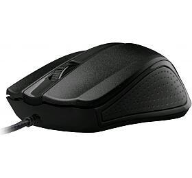 Myš C-Tech WM-01BK / optická / 3 tlačítka / 1200dpi - černá - C-Tech