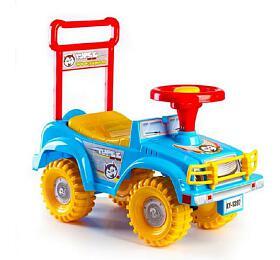 Odrážedlo auto Yupee modré 53,5x48,3x26cm v krabici od 12 do 35 měsíců - Teddies