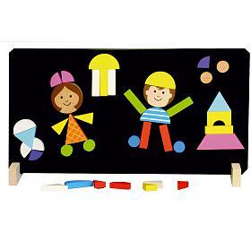 Magnetické puzzle děti v krabici 33x23x3,5cm - Detoa