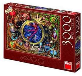 Puzzle Tarot 117x84cm 3000 dílků v krabici 43x30x5,5cm - Dino hračky