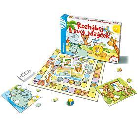 Rozhýbej svůj jazýček verze CZ aneb logopedie hrou společenská hra v krabici 35x23cm - Bonaparte