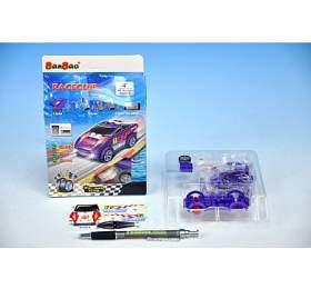 Stavebnice BanBao Auto závodní na zpětné natažení 23ks v krabičce - Mikro Trading