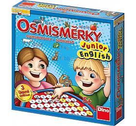 Osmisměrky Junior English společenská hra v krabici 27x27x7cm - Dino hračky