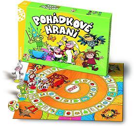 Pohádkové hraní Večerníček, Člověče, nezlob se společenská hra v krabici 35x23x4cm - Bonaparte