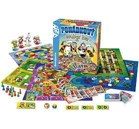 Pohádkový soubor 9 her společenská hra v krabici 32x37x7cm - Bonaparte