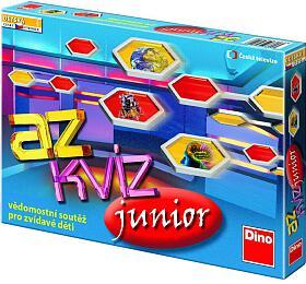 Společenská hra Dino A-Z Kvíz junior - Dino hračky