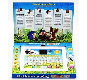 Krtkův naučný tablet pro nejmenší Krtek 24,1x18,7x1,8cm na baterie v krabici - Teddies