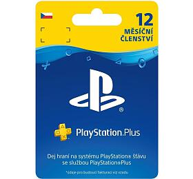 Předplacená karta Sony PlayStation Plus Card 365 dní - pouze pro CZ PS Store - Sony