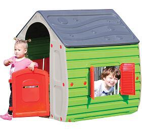 Dětský domek Buddy Toys BOT 1011 Domeček MAGICAL šed. - Buddy toys