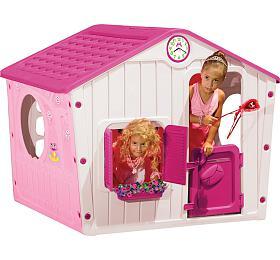 Domeček VILLAGE BOT 1142 Buddy Toys růžový - Buddy toys