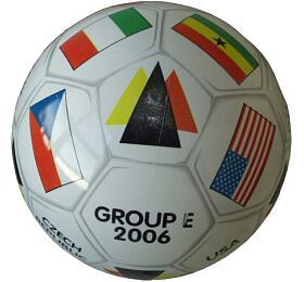 Mondo Potištěný kopací míč GROUP - E - Acra
