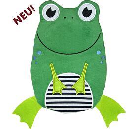 Dětský termofor Hugo Frosch Eco Junior Comfort - žába - HUGO-FROSCH