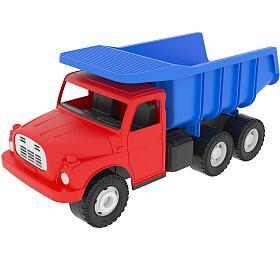 Dino Auto Tatra 148 plast 30cm červenomodrá sklápěč v krabici - Dino hračky