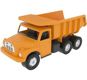 Dino Auto Tatra 148 plast 30cm oranžová sklápěč v krabici - Dino hračky