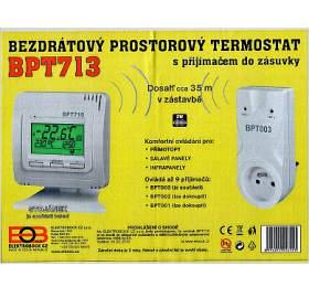 ELEKTROBOCK bezdrátový digitální termostat BPT713 - Elektrobock