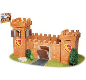 Stavebnice Teifoc Rytířský hrad 460ks v krabici 44x33x11cm - Směr