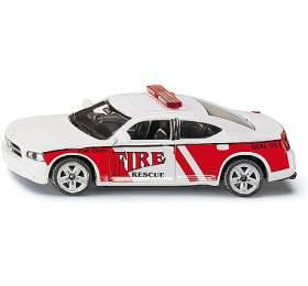Auto Velící jednotka amerických požárníků Siku kov - SIKU