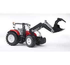 Bruder 3091 Traktor STEYR CVT 6230 + čelní nakladač - Bruder