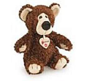 Trudi Bussi Classic - medvídek tm. hnědý 25 cm - TRUDI