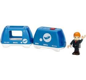 Elektrický vláček BRIO s panáčkem - BRIO