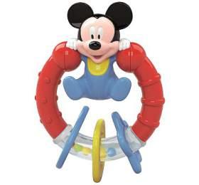 Mickey - chrastítko CLEMENTONI - CLEMENTONI