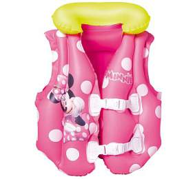 Nafukovací plavací vesta - Minnie, rozměr 51x46 cm Bestway - Bestway