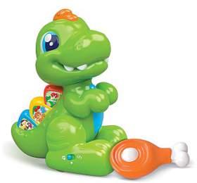 Interaktivní dinosaurus T-Rex Clementoni Baby naučný - CLEMENTONI
