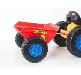 Hračka G21 vlečka k šlapacímu traktoru červená - G21