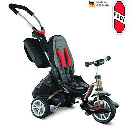Dětská tříkolka PUKY CAT S 6 City Premium, bronzová - PUKY