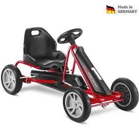 Dětská šlapací kára PUKY Go Cart F 20 černo/červená - PUKY