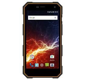 Mobilní telefon myPhone HAMMER ENERGY Dual SIM, LTE - černý/oranžový - myPhone