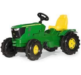 Šlapací traktor Farmtrac John Deere 6210 ROLLYTOYS - ROLLYTOYS