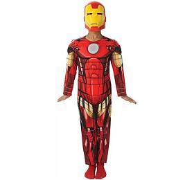 Avengers: Assemble - Iron Man Deluxe - vel. S - Blackfire