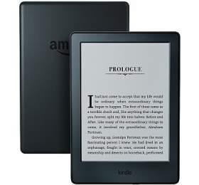 Čtečka e-knih Amazon Kindle 8 TOUCH Wi-Fi verze s reklamou - černá - AMAZON