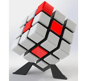 Rubikova kostka hlavolam 9x9x9cm plast 6 her na baterie se zvukem se světlem v krabici - Teddies