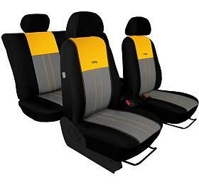 Autopotahy DUO TUNING žlutošedé SIXTOL - Sixtol