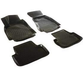 Gumové koberce Audi A4 Limousine / Avant (B8 8K) (4-dv) (07-15) (3D) SIXTOL - Sixtol