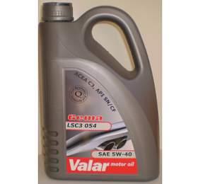 Motorový olej Valar Gema LSC3 054 5W-40, 4l - Valar