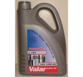 Motorový olej Valar Dynamic L 104 10W-40, 4l - Valar