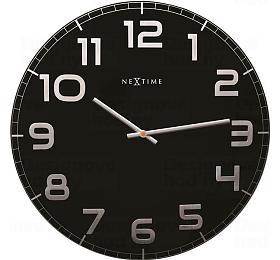 Designové nástěnné hodiny 3105zw Nextime Classy Large 50cm - NeXtime
