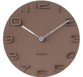 Designové nástěnné hodiny 5311BR Karlsson 42cm - Karlsson