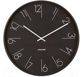 Designové nástěnné hodiny 5607BK Karlsson 40cm - Karlsson