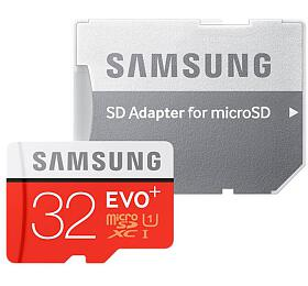 Samsung micro SDHC 32GB EVO Plus + SD adaptér (MB-MC32GA/EU) - Samsung