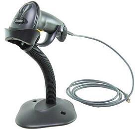 Čtečka Motorola DS4308 2D snímač, USB kabel, stojánek, černá (DS4308-SR7U2100SGW) - Motorola