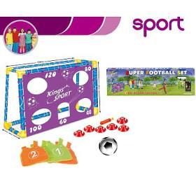 Hračka G21 Fotbalová branka Super football s příslušenstvím - G21