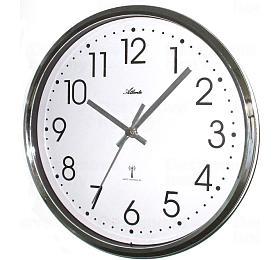 Designové nástěnné hodiny AT4368 řízené signálem DCF 25cm - Atlanta