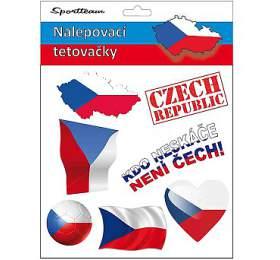Tetovací obtisky ČR 2 SportTeam - SportTeam