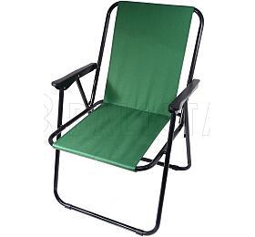 Židle kempingová skládací BERN zelená, CATTARA - CATTARA